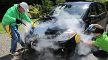 Tác dụng không ngờ của việc rửa xe, chăm sóc xe bằng hơi nước nóng